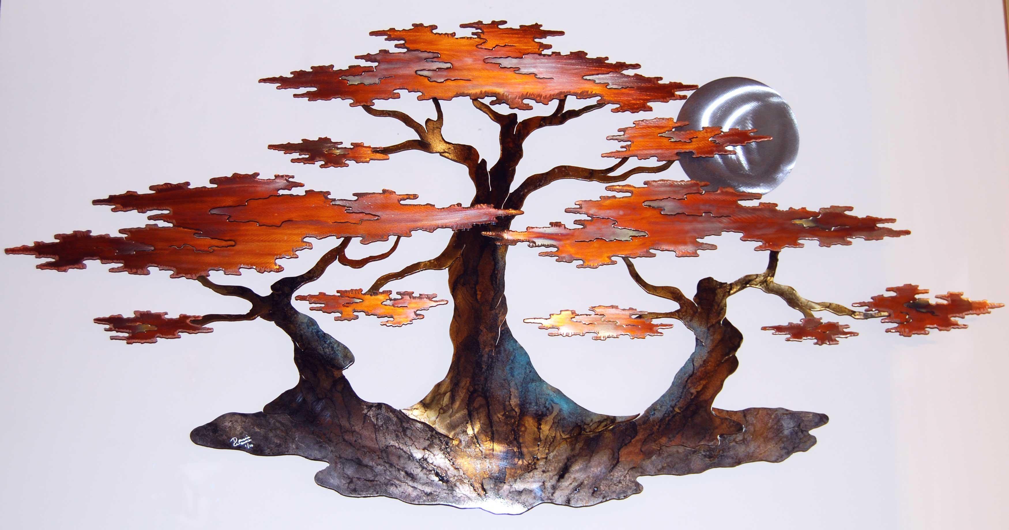 The Art Of Donnie Wanner Regarding Copper Oak Tree Wall Art (View 6 of 20)