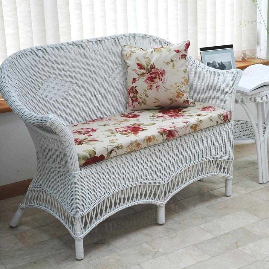 Featured Image of White Cane Sofas
