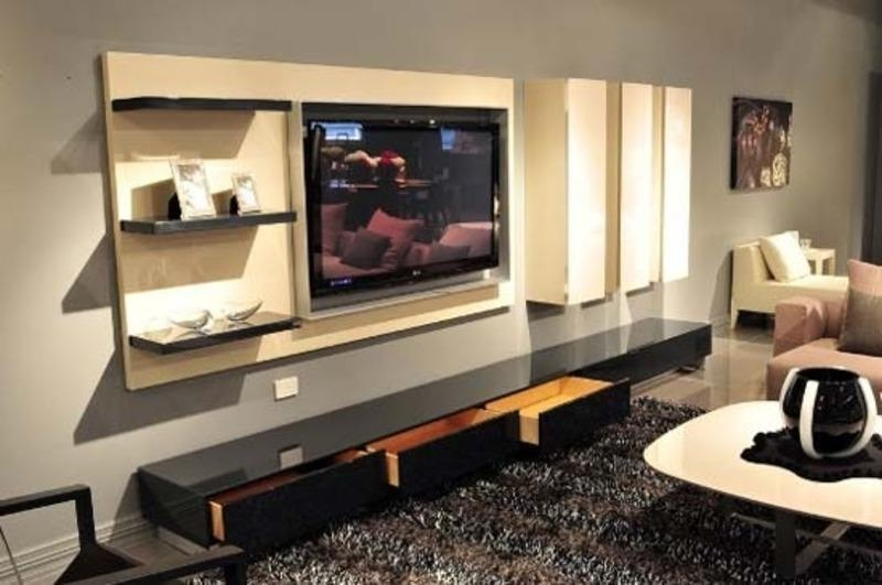 The Benefits Of A Well Design Tv Cabinet: Beautiful Pictures Within Current Modern Tv Cabinets Designs (Image 16 of 20)