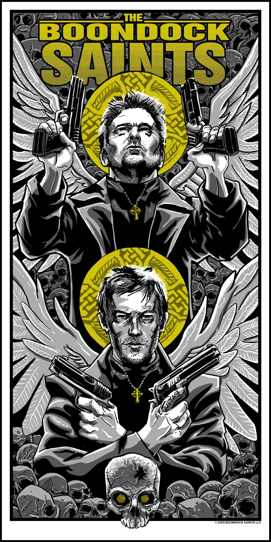 The Boondock Saints | 411Posters Regarding Boondock Saints Wall Art (Image 15 of 20)