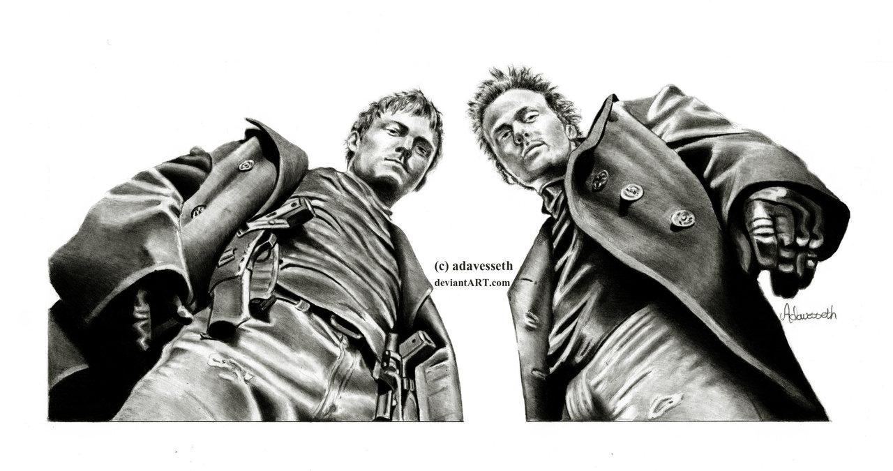 The Boondock Saintsadavesseth On Deviantart Inside Boondock Saints Wall Art (Image 20 of 20)