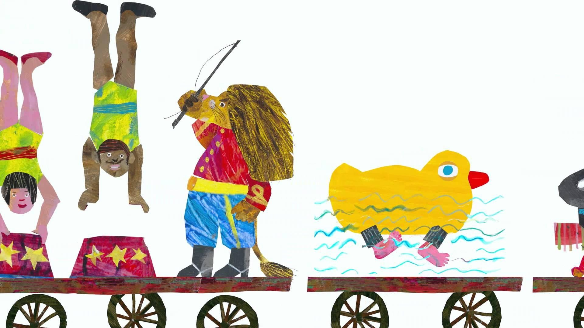 The Nonsense Showeric Carle – Youtube Intended For Eric Carle Wall Art (View 17 of 20)