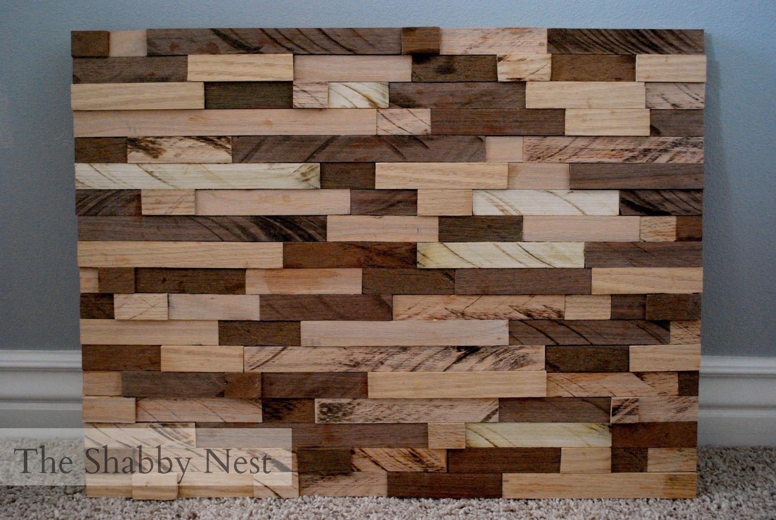 The Shabby Nest: January 2013 Intended For Talking Dead Wood Wall Art (View 17 of 20)
