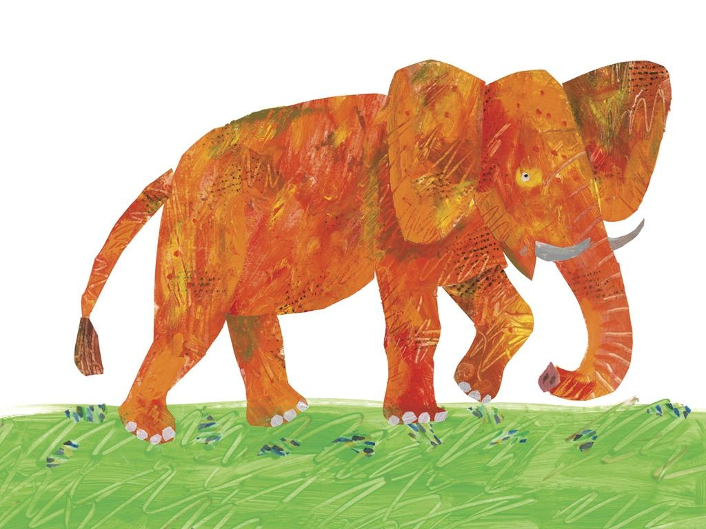 The Very Hungry Caterpillar with Eric Carle Wall Art