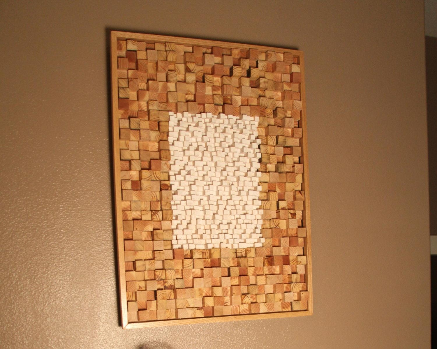The Walking Dead The Talking Dead Inspired Art Sculpture Home With Regard To Talking Dead Wood Wall Art (View 5 of 20)