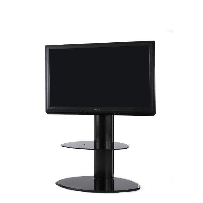 The Wall Motion Cantilever Tv Stand In Black Within Most Current Tv Stand Cantilever (Image 14 of 20)