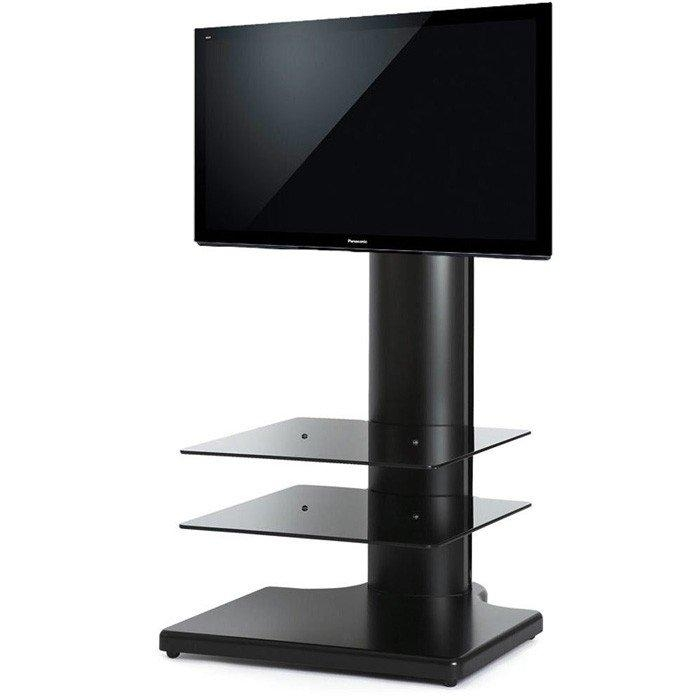 "The Wall Origin S1 Cantilever Tv Stand In Black For Tv's Up To 32"" For Recent Cantilever Tv (Image 15 of 20)"