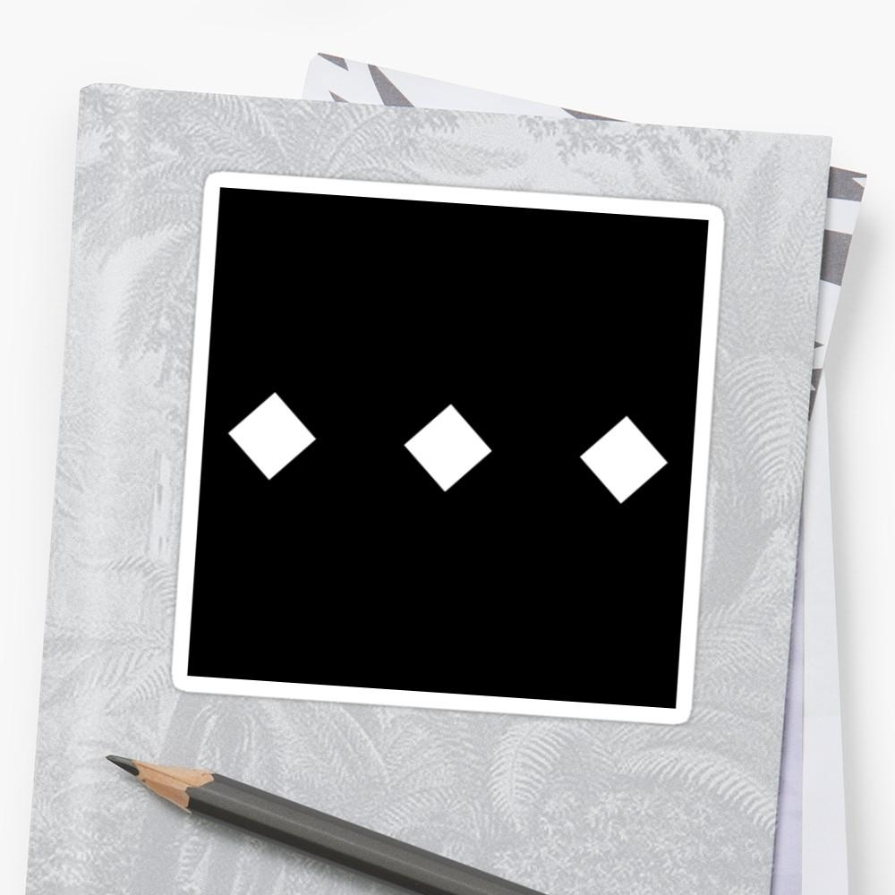 "The Weeknd – Trilogy Diamonds"" Stickersjdab 