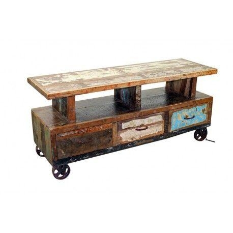 This Could Be Very Easily Converted Into A Fabulous Bar Cart (Image 19 of 20)