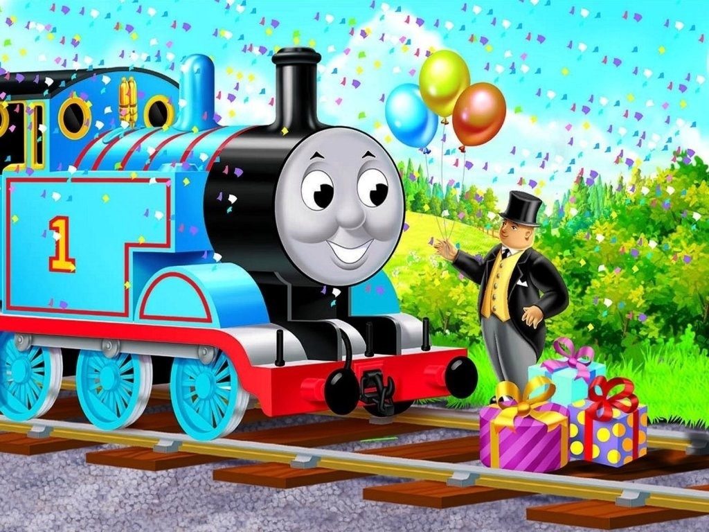 Thomas The Tank Engine Kids Cartoon Tv Giant Wall Poster Art Print For Thomas The Tank Wall Art (Image 13 of 20)
