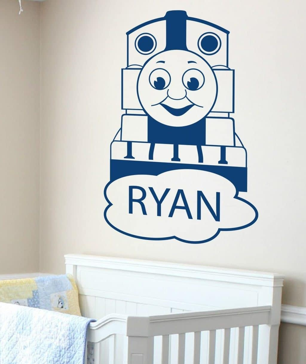 Thomas The Tank Engine – Wall Art Decal | Wall Decals | Wall Inside Thomas The Tank Wall Art (Image 12 of 20)
