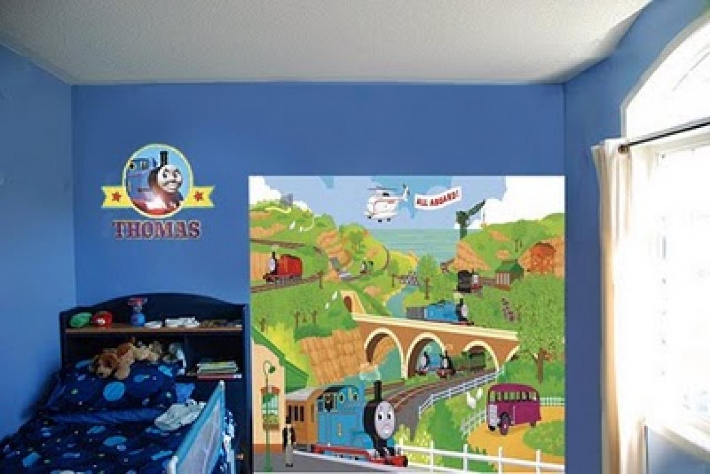 Thomas The Train Wall Mural