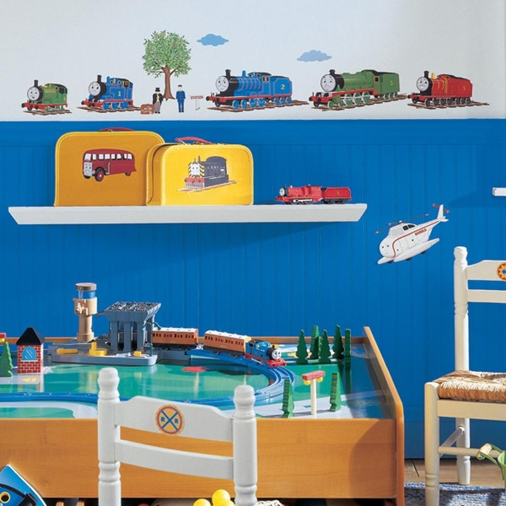 Thomas The Train Bedroom Decor Wall Art — Office And Bedroom With Regard To Thomas The Tank Wall Art (Image 18 of 20)