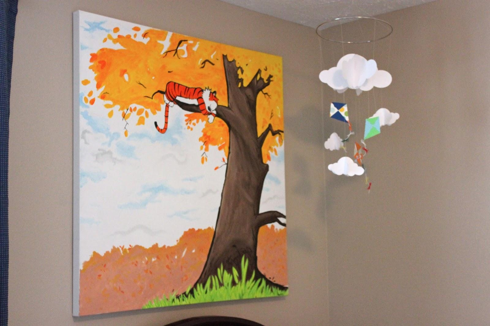 Three More Weeks: Calvin's Room Tour Within Calvin And Hobbes Wall Art (Image 20 of 20)