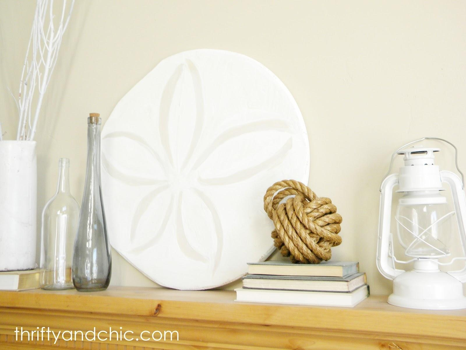 Thrifty And Chic - Diy Projects And Home Decor in Sand Dollar Wall Art