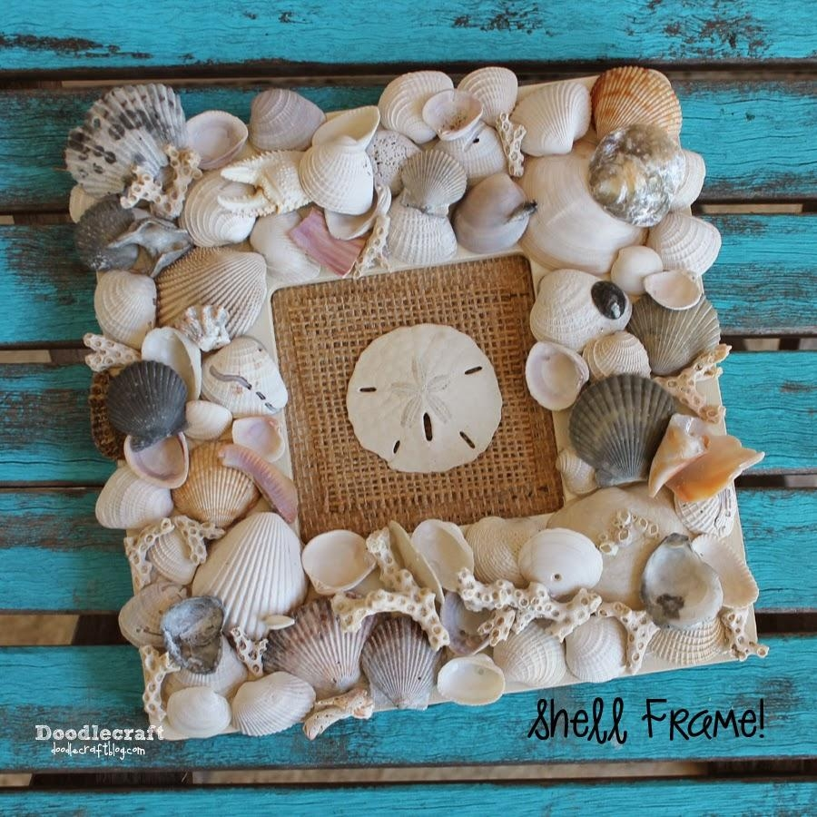 Tips: Seashell Collection | Seashell Crafts | Wall Art With Seashells With Regard To Wall Art With Seashells (Image 19 of 20)