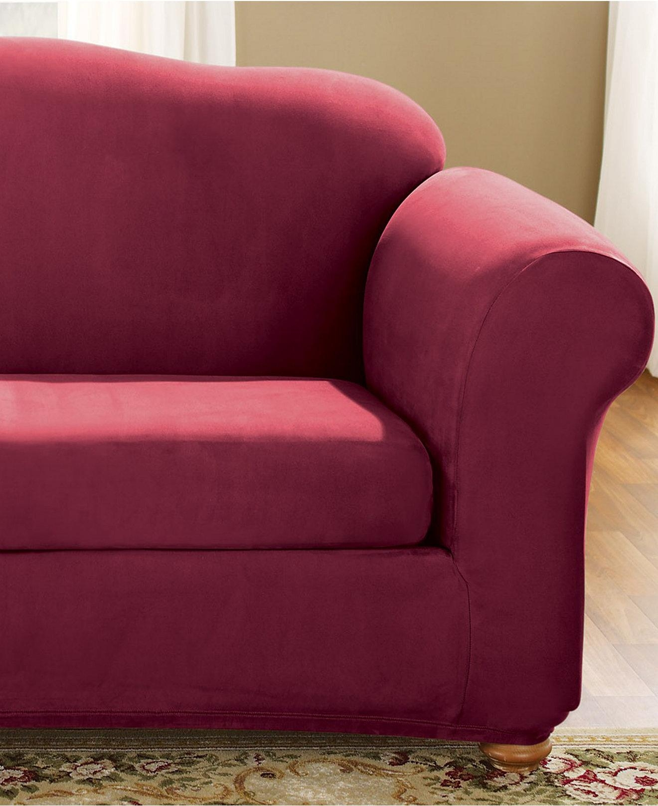 Tips: T Cushion Slipcovers For Sofas | Slipcovers For Chairs With For 2 Piece Sofa Covers (Image 27 of 27)