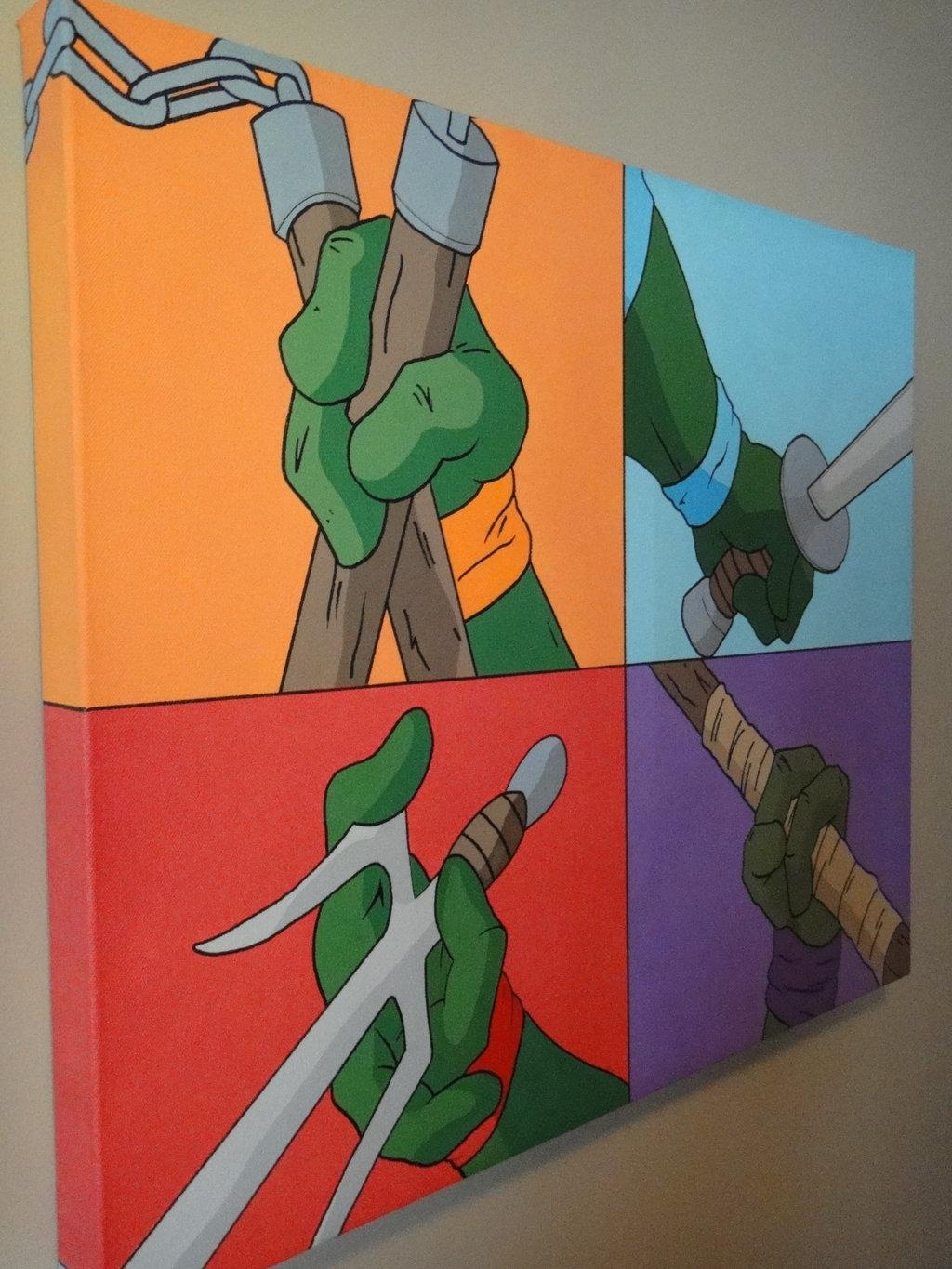 Featured Photo of Tmnt Wall Art