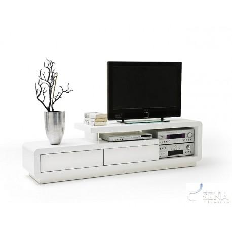 Tony – High Gloss Tv Unit – Tv Stands – Sena Home Furniture Inside Newest White High Gloss Corner Tv Unit (View 17 of 20)