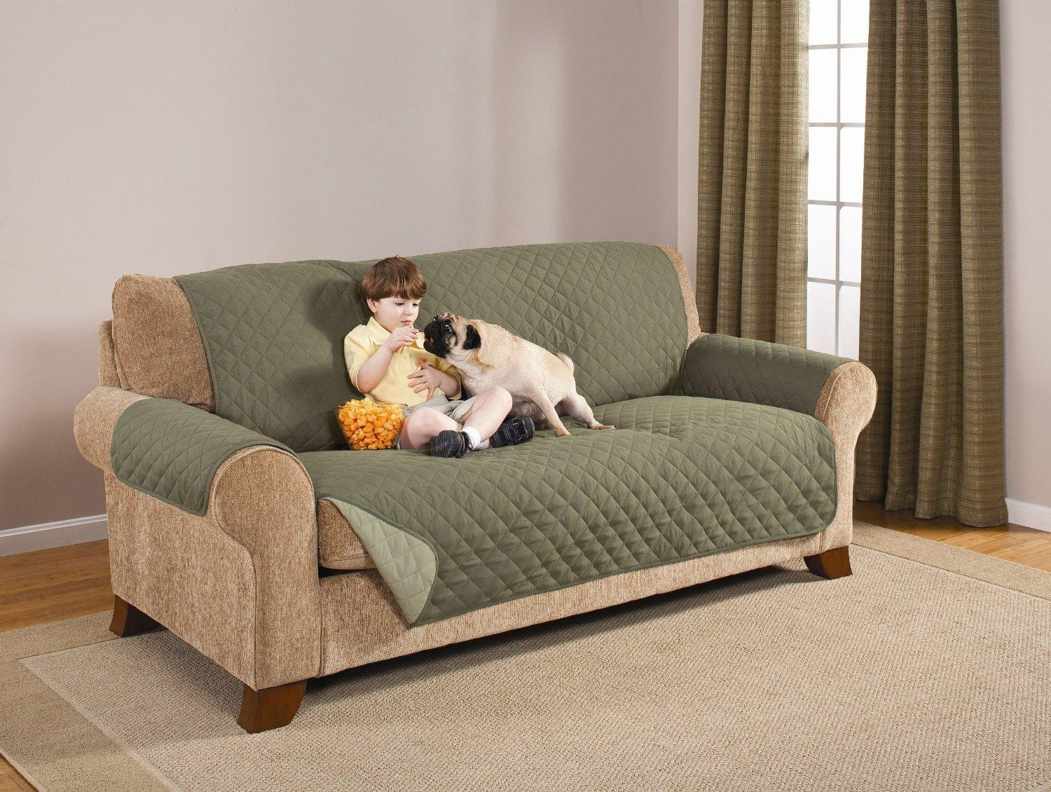 Top 10 Best Sofa Covers For Pets – Pet Sofa Covers To Keep Clean With Regard To Sofa Settee Covers (Image 20 of 22)