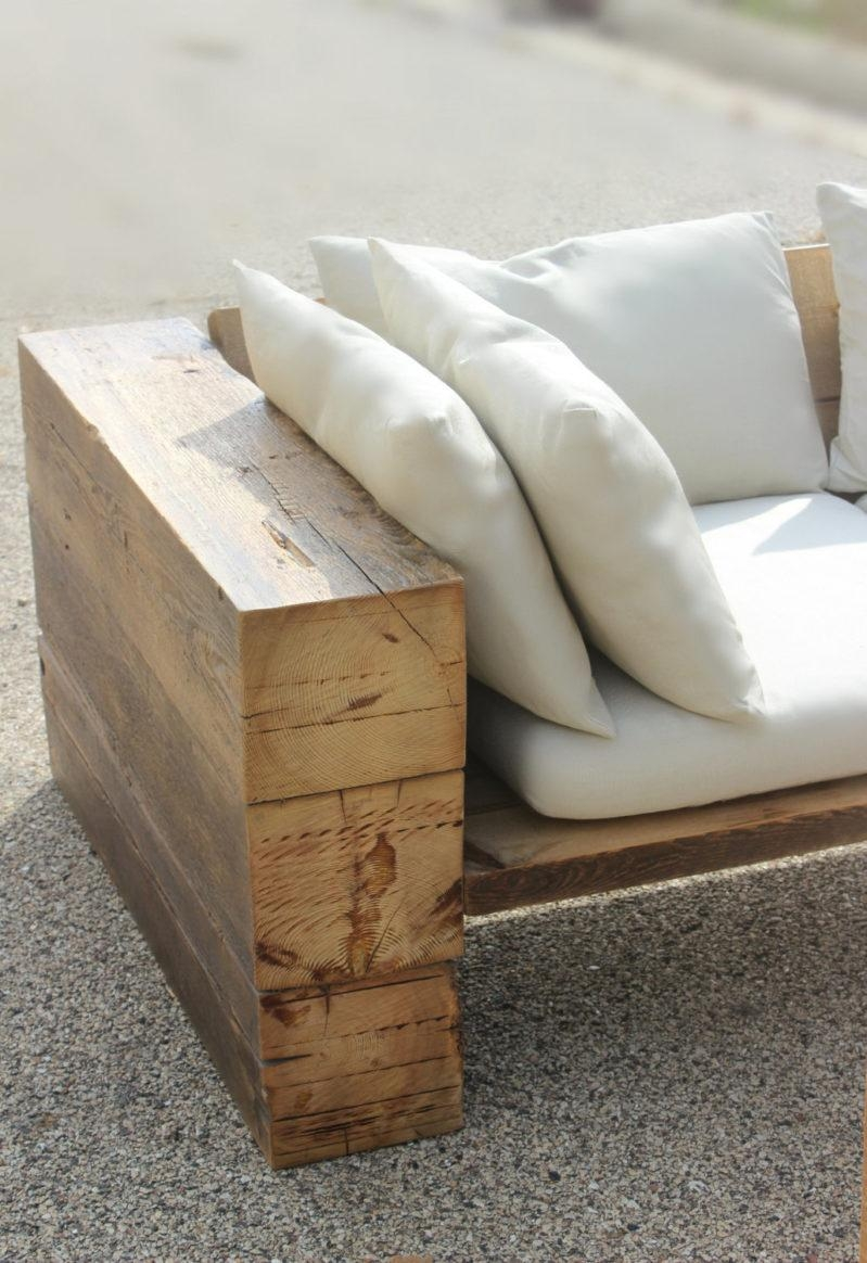 Top Reclaimed Wood Outdoor Sofas With 22 Images | Home Devotee Regarding Etsy Sofas (View 10 of 20)
