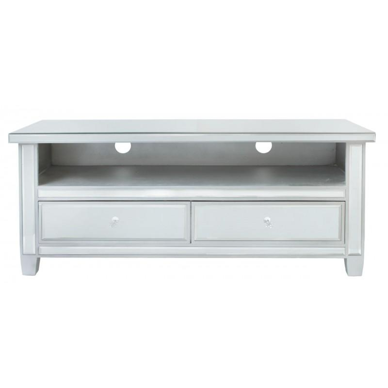 Traditional Mirrored Tv Cabinet | Buy Online At Zurleys Pertaining To Best And Newest Mirrored Tv Cabinets (View 6 of 20)