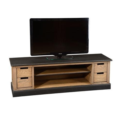 Traditional Tv Cabinet / Oak / Solid Wood – 1904 : Tt005 – Grange Inside Most Recent Traditional Tv Cabinets (Image 8 of 20)