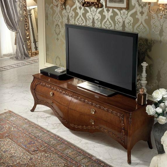 Traditional Tv Cabinet / Wooden / Lacquered Wood – Belle Epoque With Regard To Most Popular Traditional Tv Cabinets (View 8 of 20)