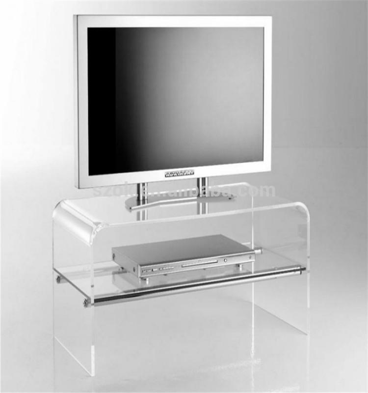 Acrylic Stand Designs : Collection of clear acrylic tv stands cabinet and