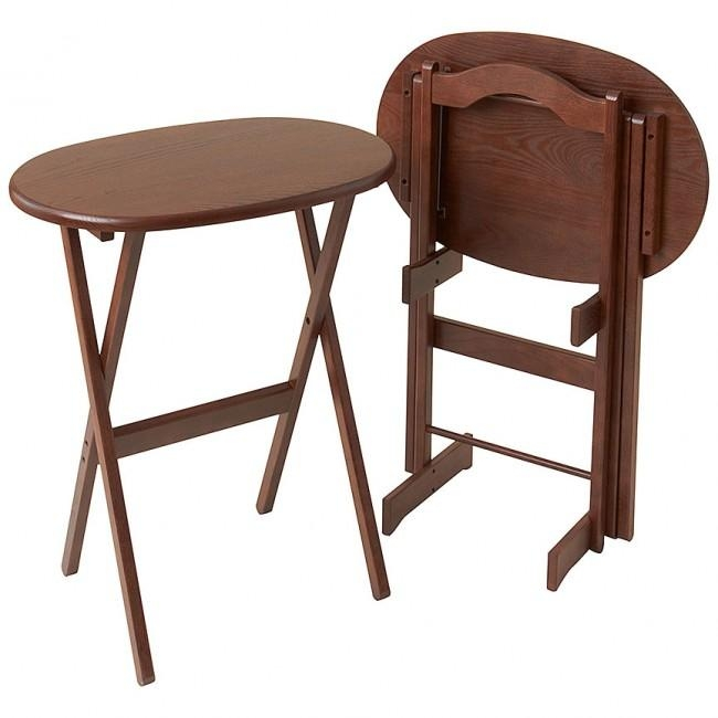 Tray Table Folding – Solid Wood Furniture @ Manchesterwood Pertaining To Recent Folding Wooden Tv Tray Tables (Image 20 of 20)