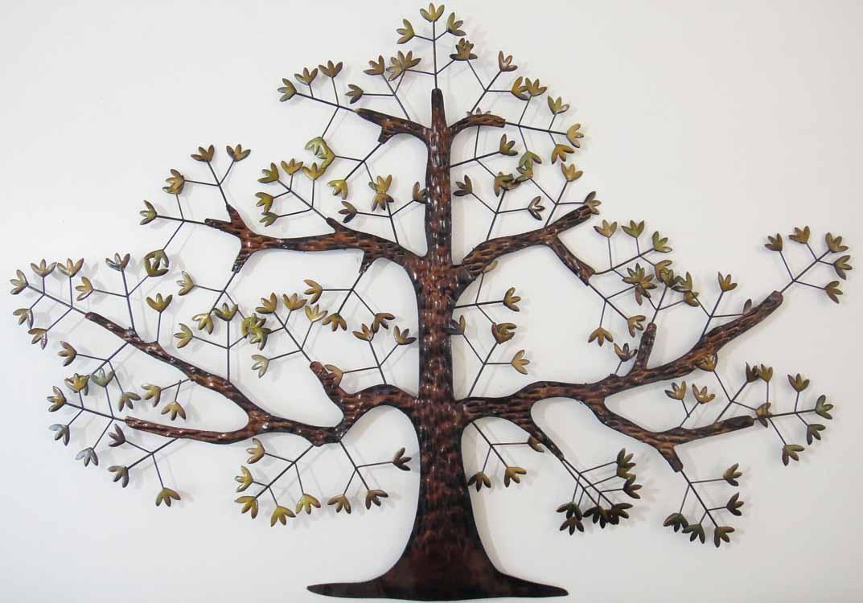 Tree Wall Art Uk | Wallartideas For Oak Tree Large Metal Wall Art (View 2 of 20)