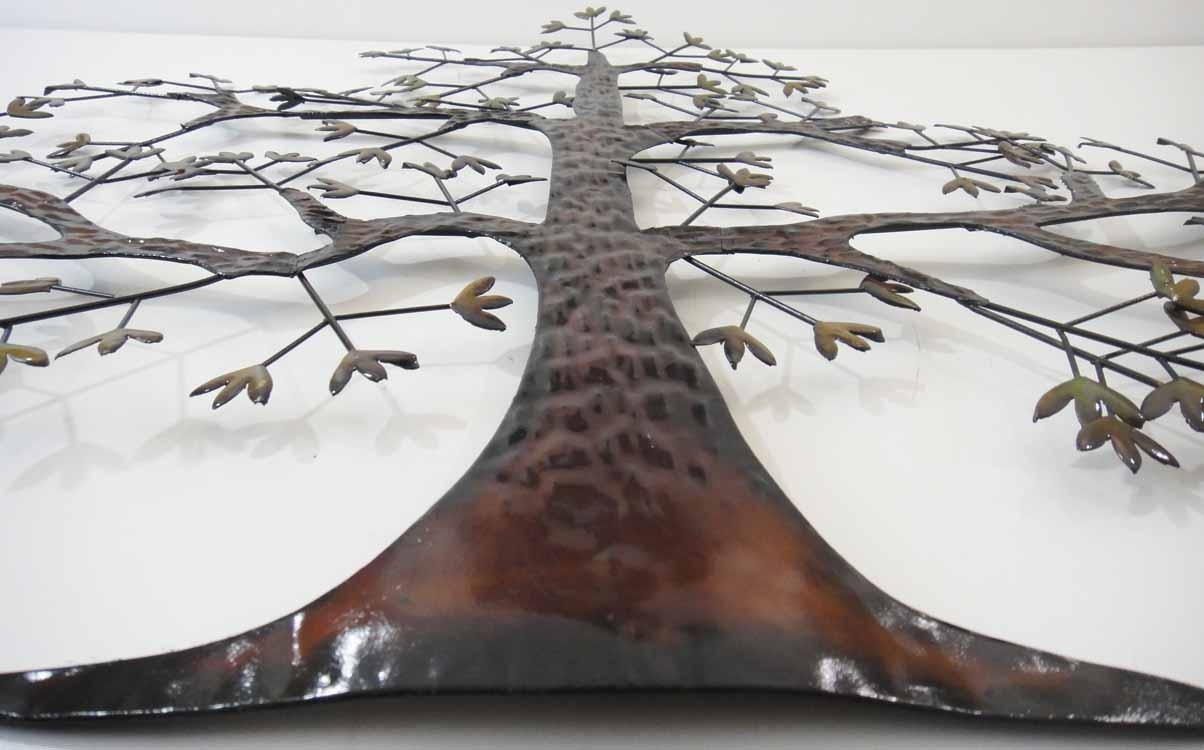 Tree Wall Art Uk | Wallartideas Inside Windy Oak Tree Metal Wall Art (Image 15 of 20)