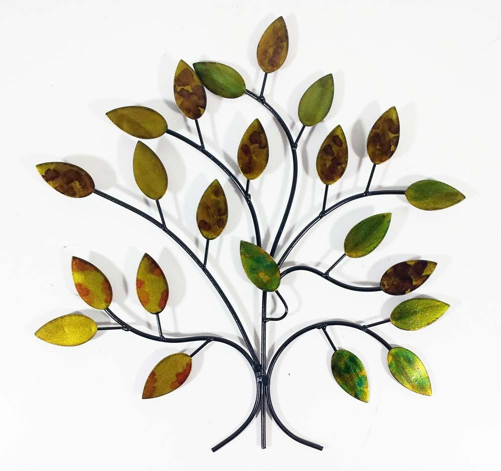 Trees & Woodland Metal Wall Art   Metal Wall Art   Contemporary Intended For Windy Oak Tree Metal Wall Art (View 13 of 20)