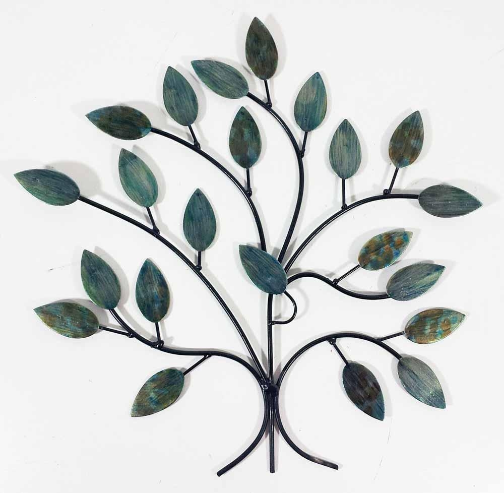 Trees & Woodland Metal Wall Art | Metal Wall Art | Contemporary Pertaining To Windy Oak Tree Metal Wall Art (Image 17 of 20)