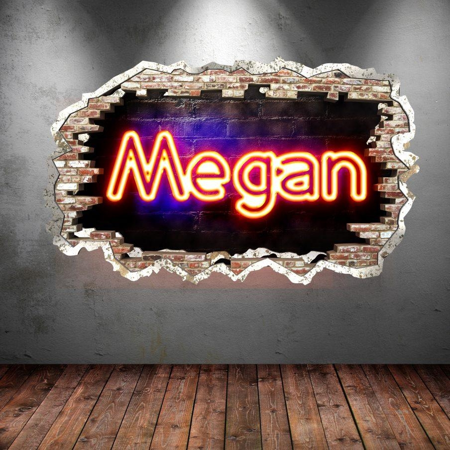 Trendy Neon Wall Art Uk Neon Wall Art Superb Wall Decor Neon Wall Pertaining To Neon Wall Art Uk (Image 9 of 20)