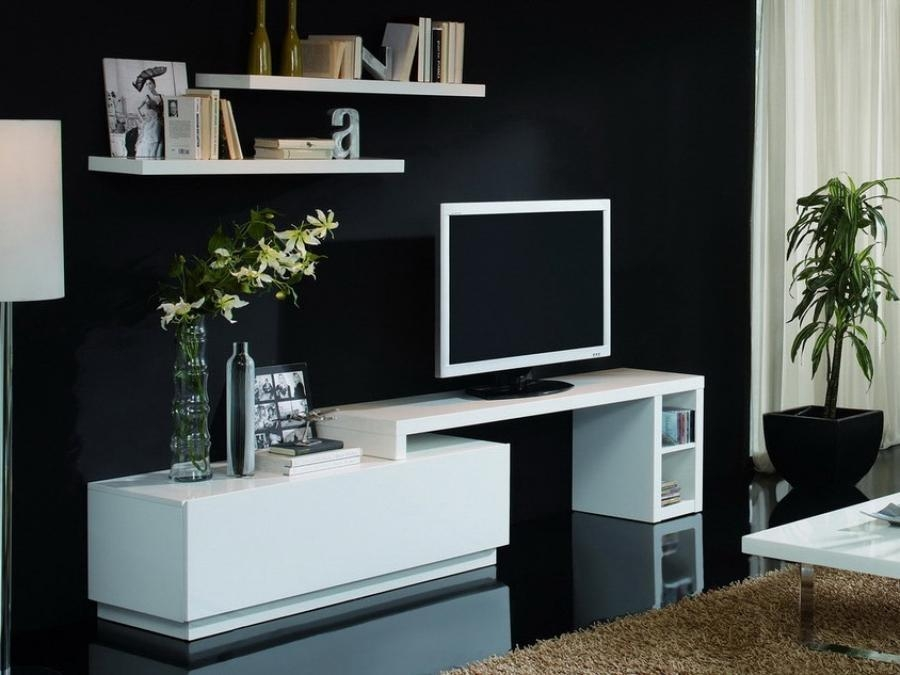 Trendy Tv Units For The Stylish Modern Home ~ Crowdbuild For (View 2 of 20)