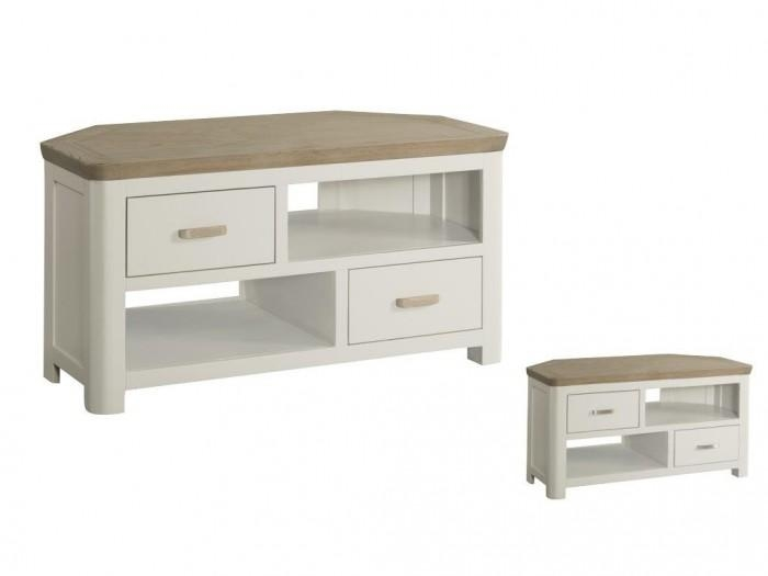 Treviso Corner Tv Unit – Braddicks Furnishers Ltd Inside Most Up To Date Painted Corner Tv Cabinets (Image 20 of 20)