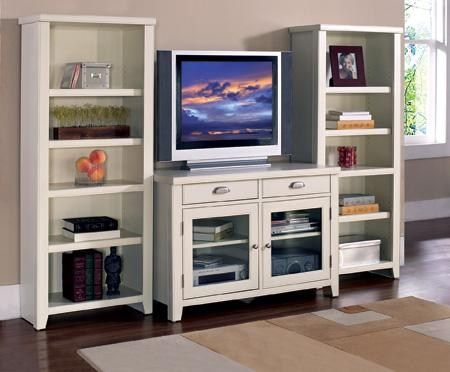 Tribeca Loft White Tv Stand – Greathouse Inside Latest White Tv Stands (Image 16 of 20)