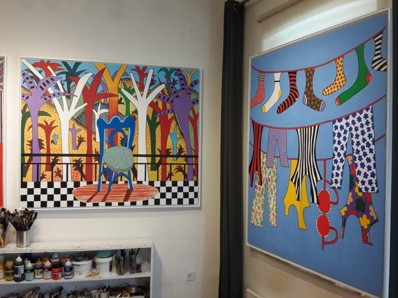 Turkish Art Scene Is Colorless, It Only Has Glitter And Glamour With Regard To Turkish Wall Art (View 19 of 20)