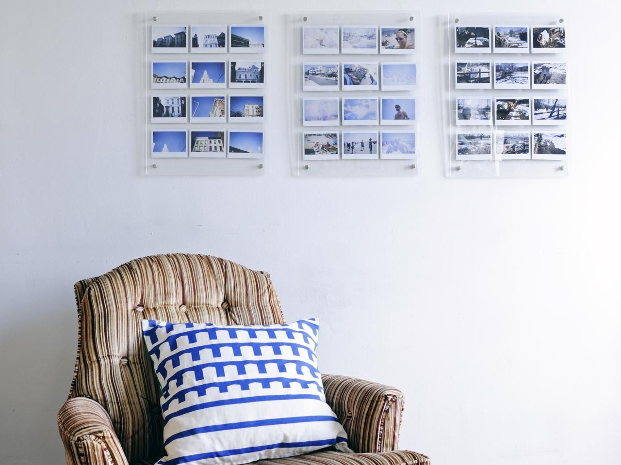 Turn Instant Photos Into Eye Catching Wall Art | Hgtv Intended For Turn Pictures Into Wall Art (Image 13 of 20)