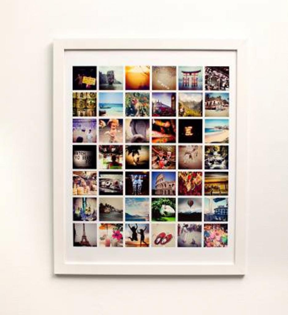 Turn Your Instagram Photos Into Wall Art Turn Your Instagram For Turn Pictures Into Wall Art (Image 18 of 20)