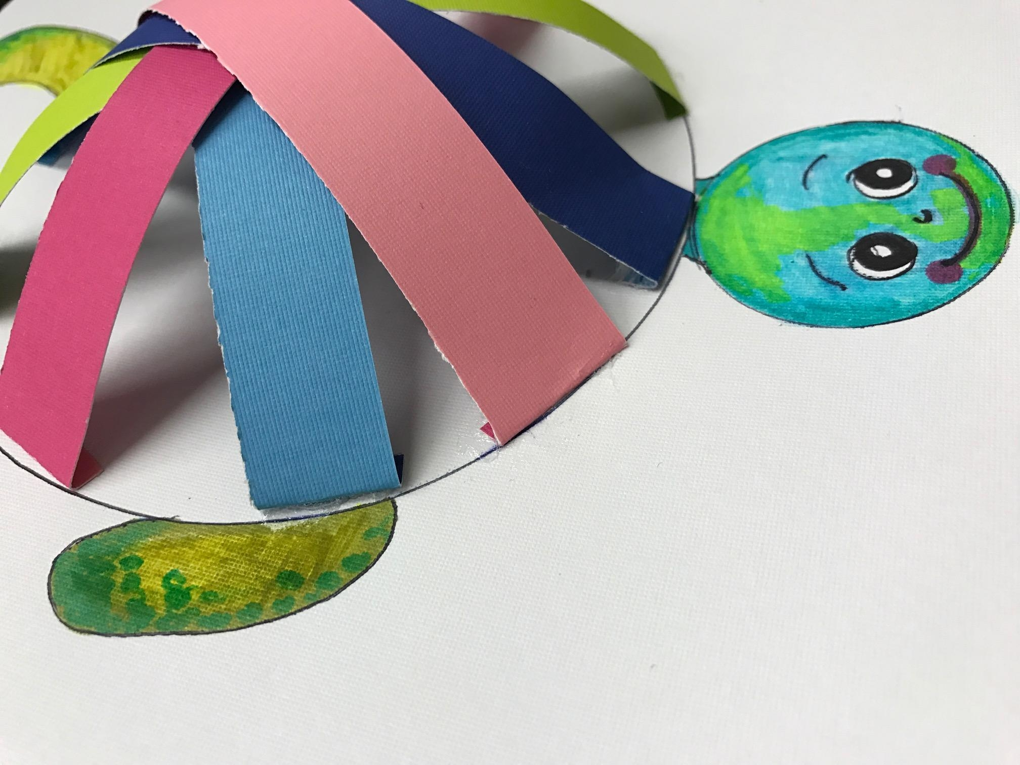 Turtle Wall Art | The Kids Crafts Blog Intended For Flip Flop Wall Art (Image 18 of 20)