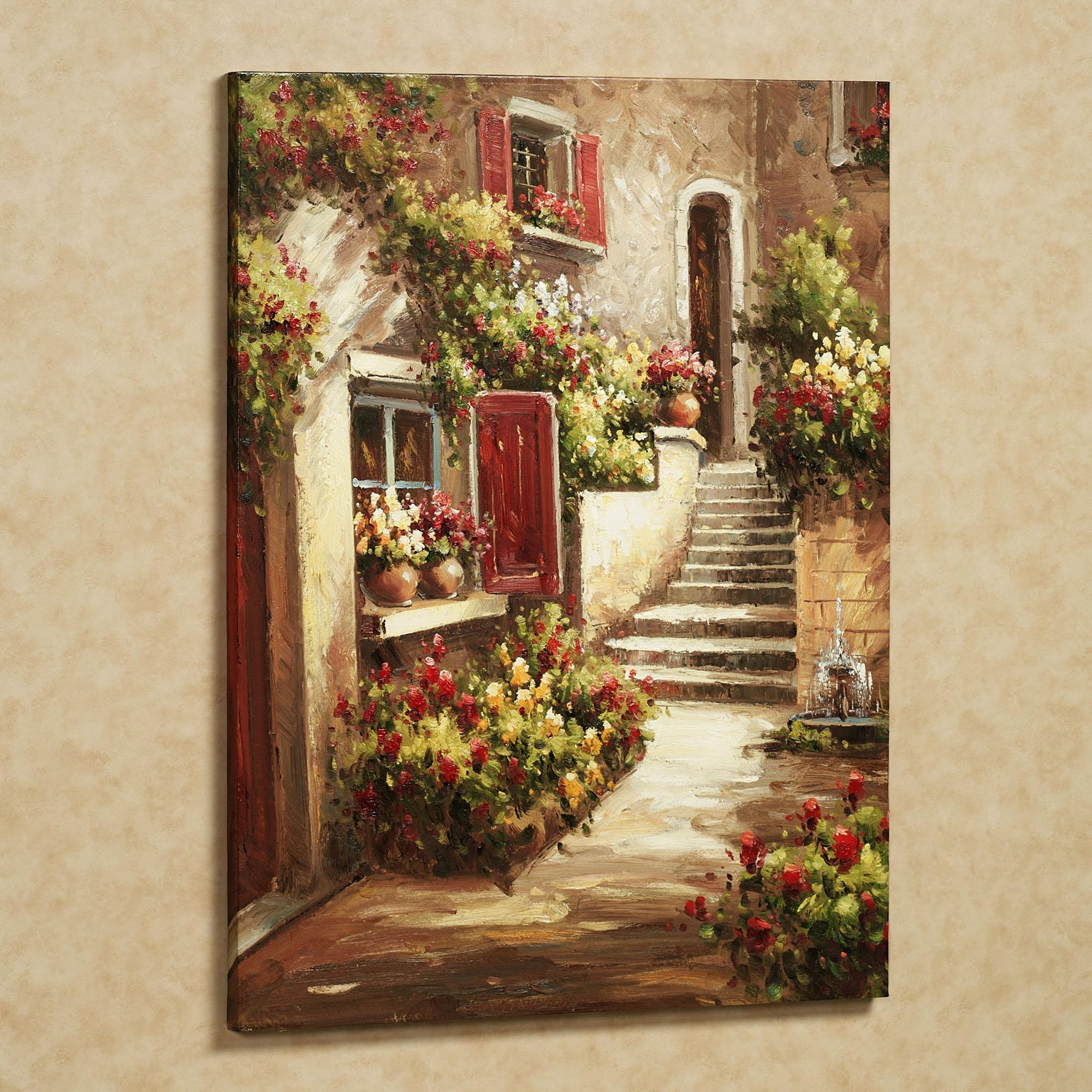 Tuscan Bathroom Decor : Tuscan Décor For A Welcoming Ambience Throughout Italian Wall Art For Bathroom (View 2 of 20)