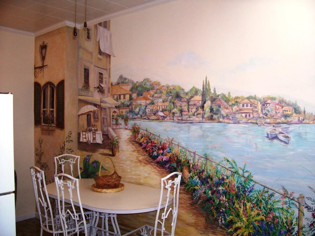Tuscan Kitchen Art Wall Decor : Tuscan Kitchen Décor For Your With Regard To Italian Art Wall Murals (View 11 of 20)
