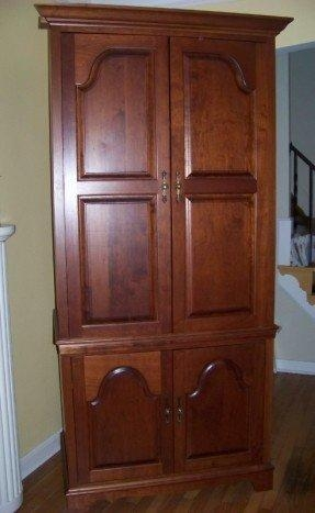 Tv Armoire With Doors And Drawers – Foter For Most Recent Cherry Tv Armoire (Image 16 of 20)