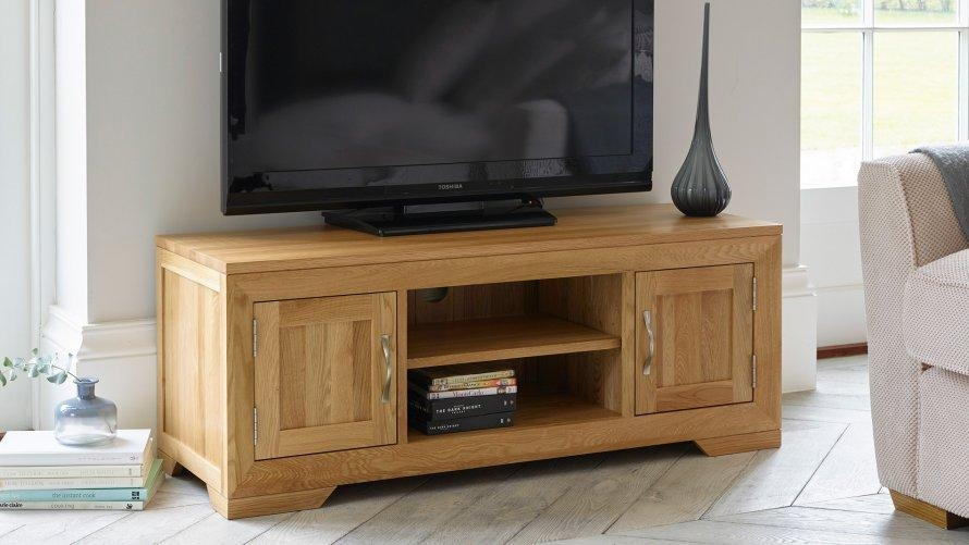Tv Bench Or Oak Tv Stand Made Of Wooden Tv Stands Be Equipped With Regard To Newest Bench Tv Stands (Photo 19 of 20)