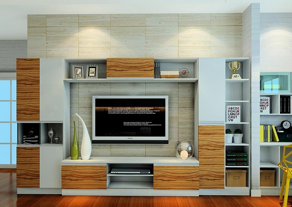 Tv Cabinet 3D House Living Room Designs Magnificent Decor Pertaining To Latest Living Room Tv Cabinets (View 20 of 20)