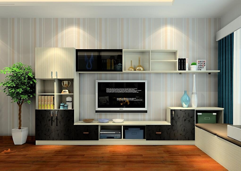 Tv Cabinet And Tatami For Living Room Interior Design The 25 Best Regarding 2017 Living Room Tv Cabinets (View 5 of 20)