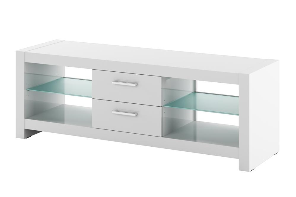 Tv Cabinet | Andora White High Gloss Tv Cabinets With Latest White High Gloss Tv Stands (Image 20 of 20)
