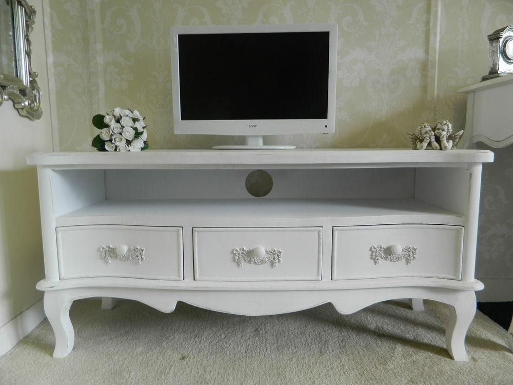 Tv Cabinet Shabby Chic | Bar Cabinet Inside Best And Newest Shabby Chic Tv Cabinets (Image 16 of 20)